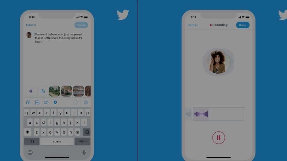 Twitter begins rolling out audio tweets on iOS