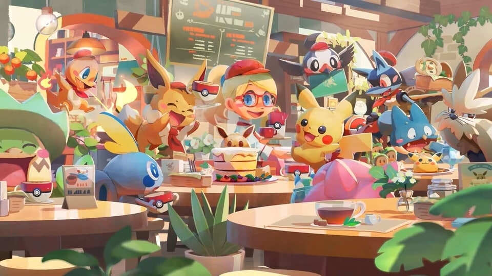 Pokemon Cafe Mix is launching on June 23.