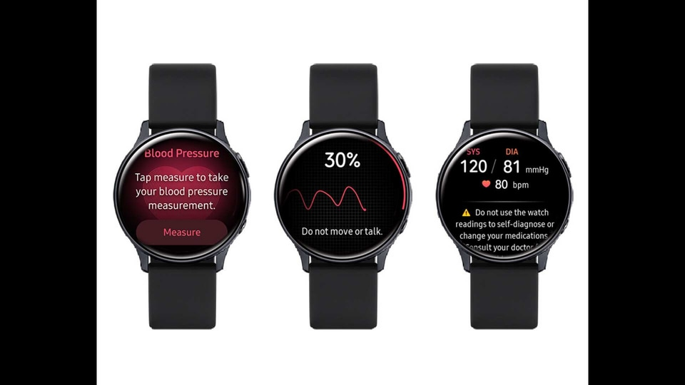 Following the rollout, the Galaxy Watch Active 2 can track blood pressure but it won't work as a full-on replacement for traditional blood pressure cuffs. You will need those cuffs to calibrate the app every four weeks.