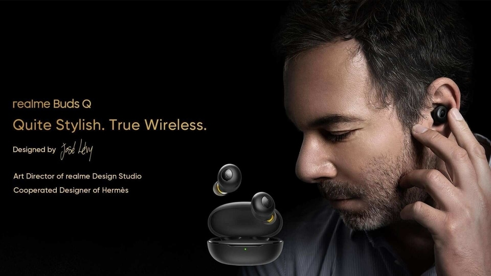Realme Buds Q have been designed by José Lévy.