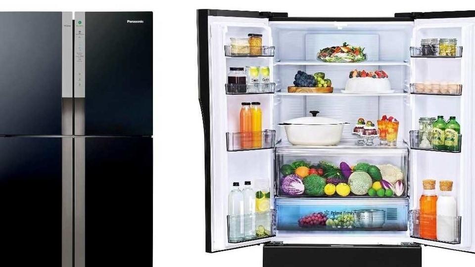 Panasonic's new fridge offer a capacity between 210L and 610L.