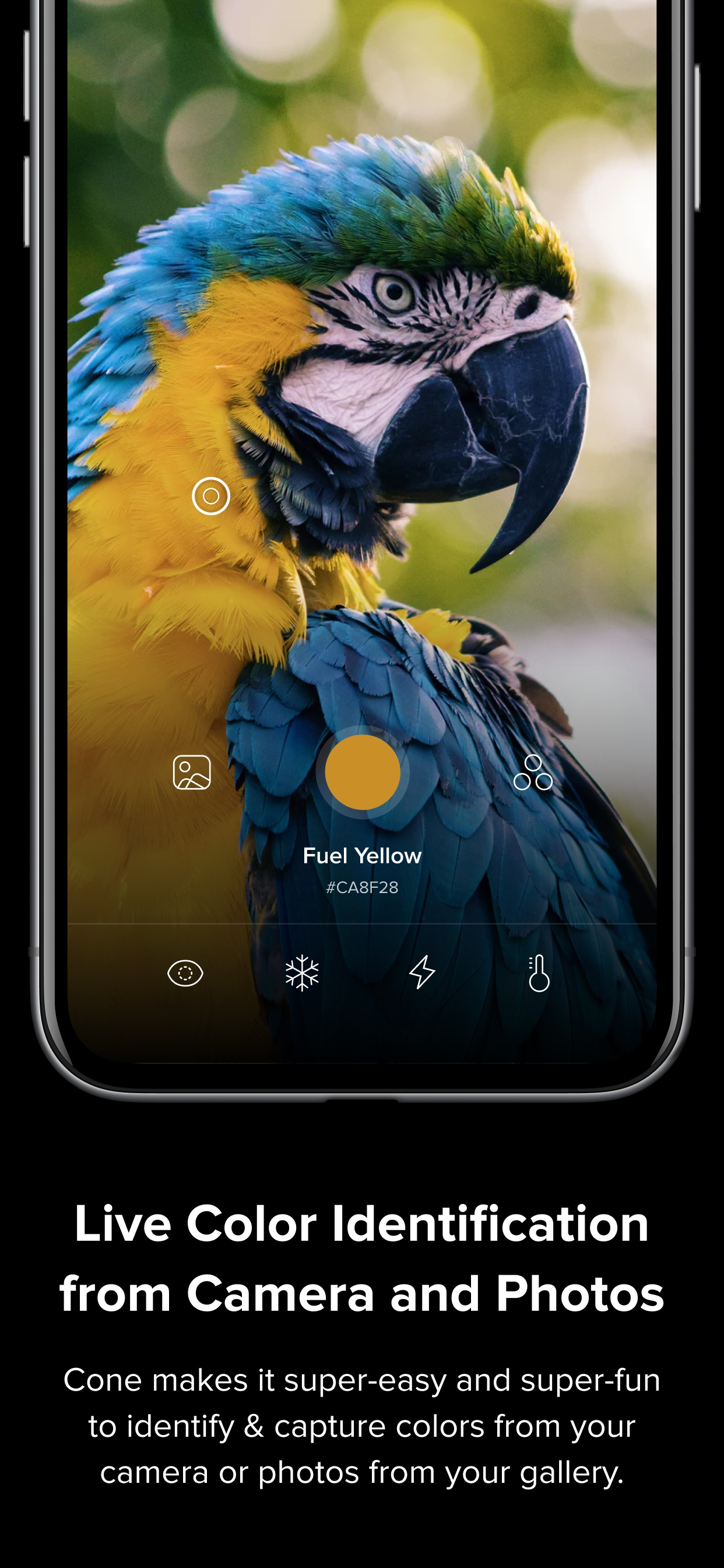 Available on the iPhone and the iPad along with support for the Apple Watch, Cone also lets you add colours and palettes so as you can share them on other platforms.