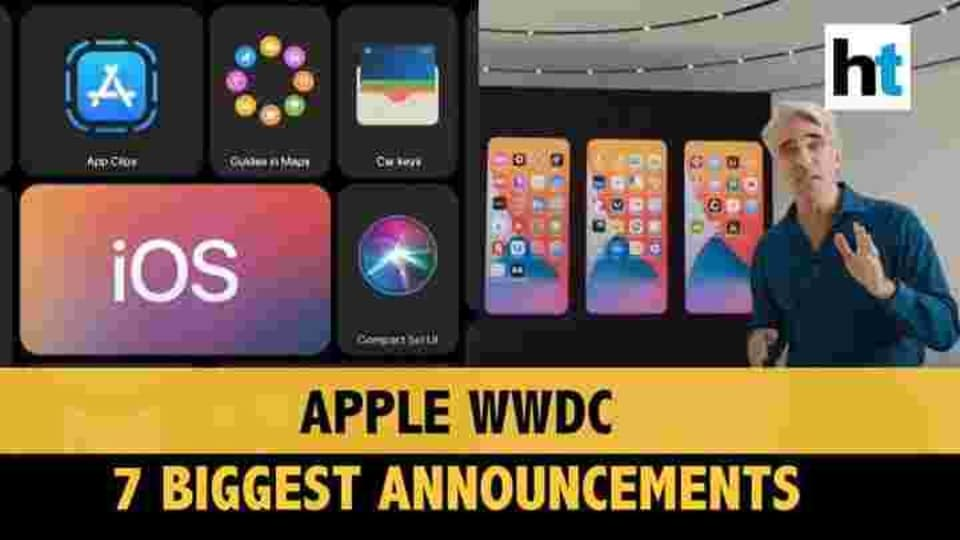Apple WWDC announcements.