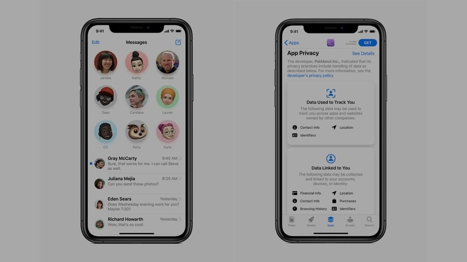 A preview of Messages and Safari on iOS 14