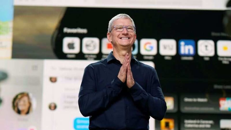 Shares of Apple rose 3.3% on Tuesday, hitting an intraday record and extending a recent advance above 60%. The gains have lifted Apple's market capitalization above $1.5 trillion.