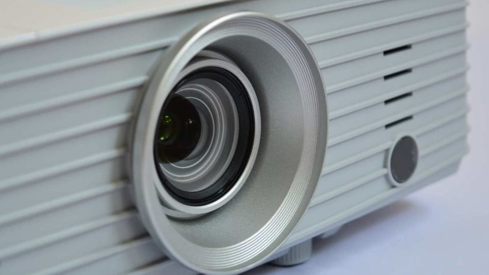 Some of these LED projectors come with built-in speakers.