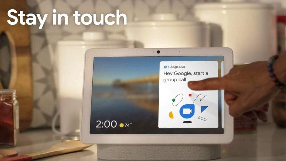 Google Nest Hub Max group calls are rolling out first in the US.