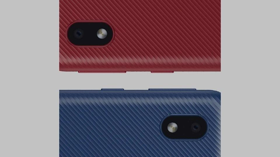 Samsung Galaxy A01 Core design leaks