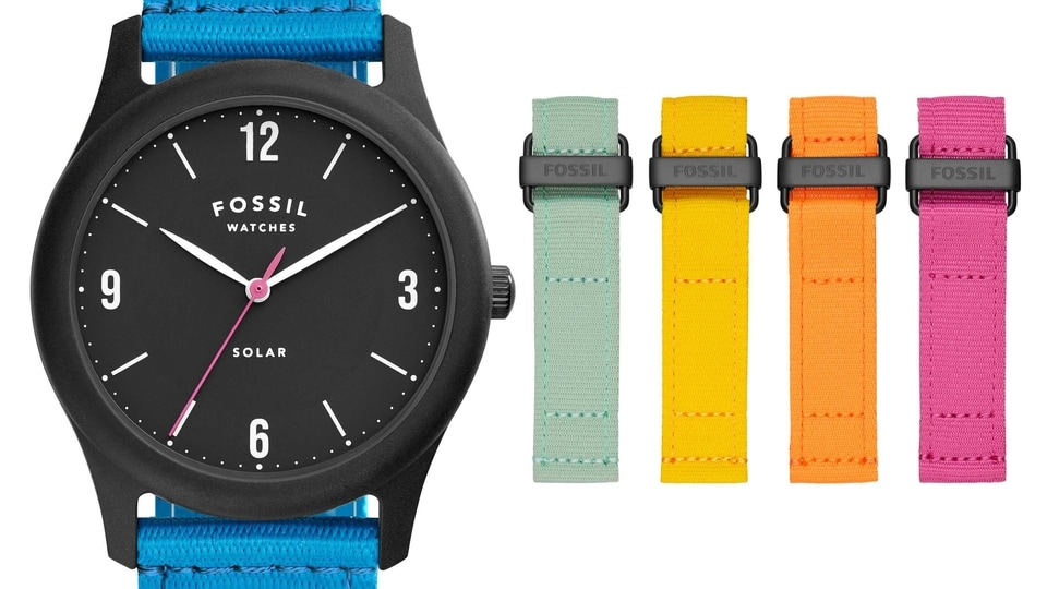 This is a limited edition watch and Fossil has made only 1,754 watches each for each size - 36mm and 42mm - and costs  <span class='webrupee'>₹</span>9,995.