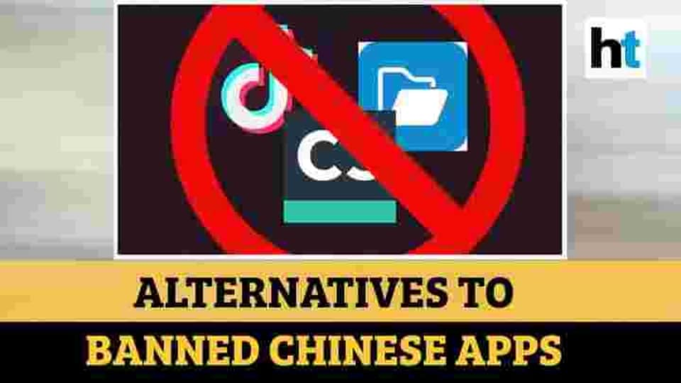 59 Chinese apps banned in India.