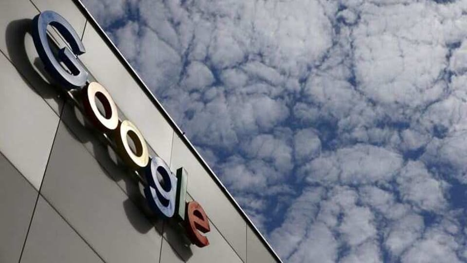A logo of Google is seen at an office building in Zurich, Switzerland July 1, 2020.