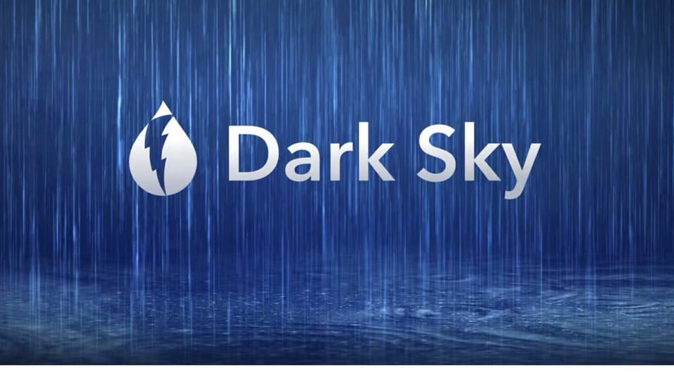 Dark Sky has also said that they will be removing weather forecasts, maps, embeds from the website after August 1.