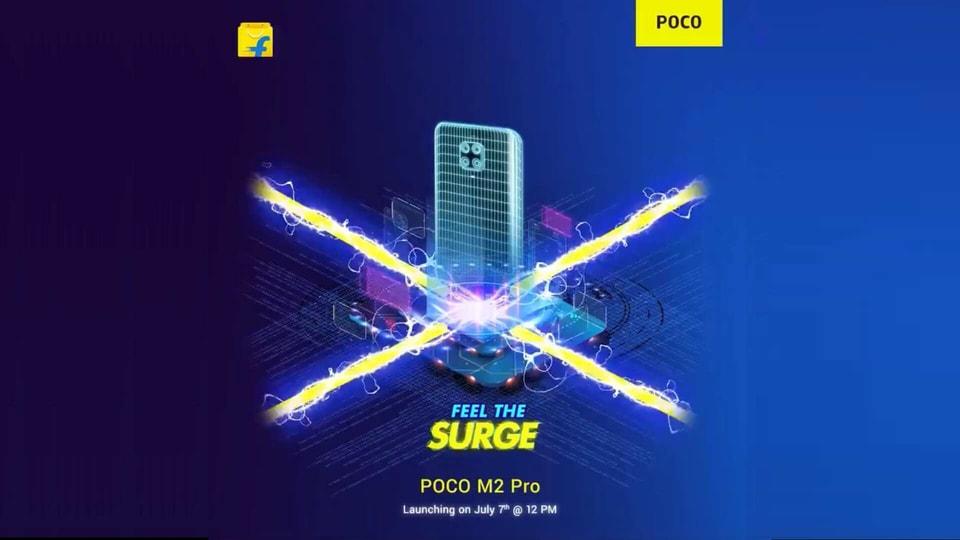 Poco M2 Pro teaser.