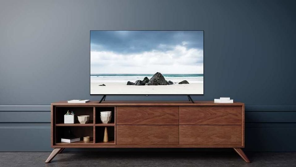 The 43-inch Samsung smart TV with a 4K UHD display costs  <span class='webrupee'>₹</span>36,990 in India.