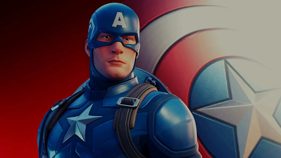The Captain America skin will cost you 2,000 V bucks (which is about $20) on the Fortnite in-game store.