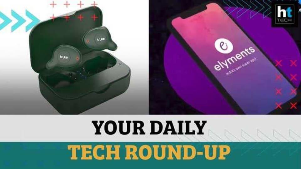 Tech round-up.