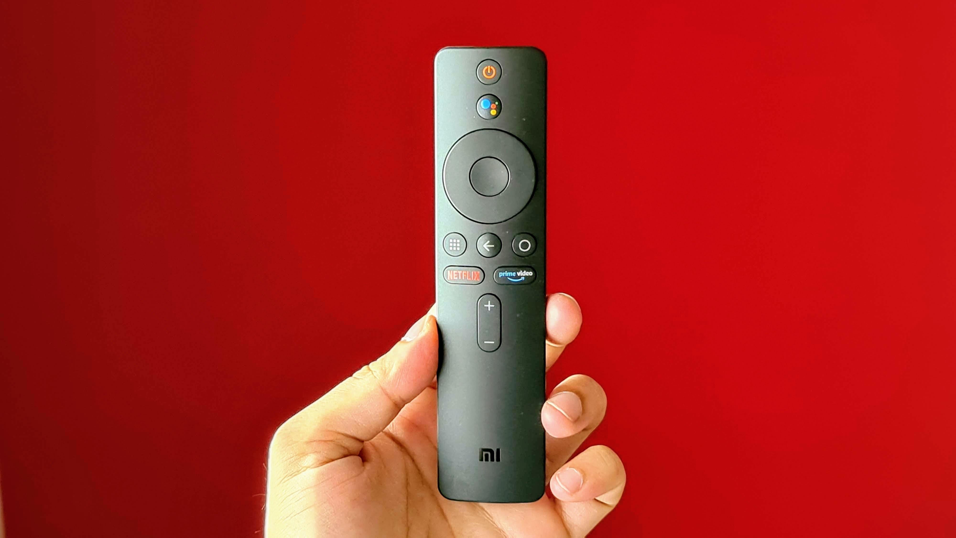 Xiaomi Mi Box 4K IR remote.