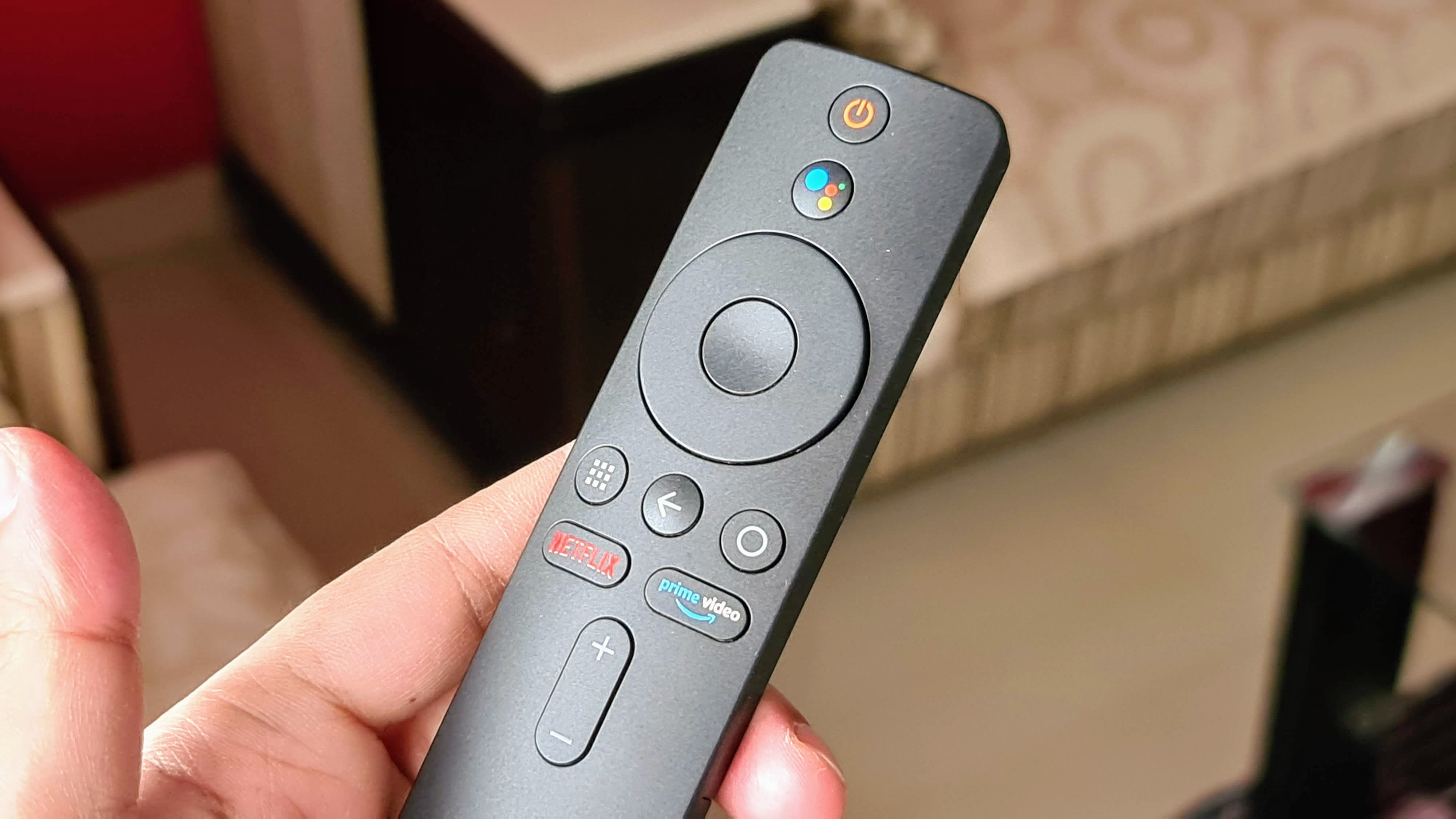 The Mi Infrared Remote control has hot keys for Netflix, Amazon Prime and Google Assistant.