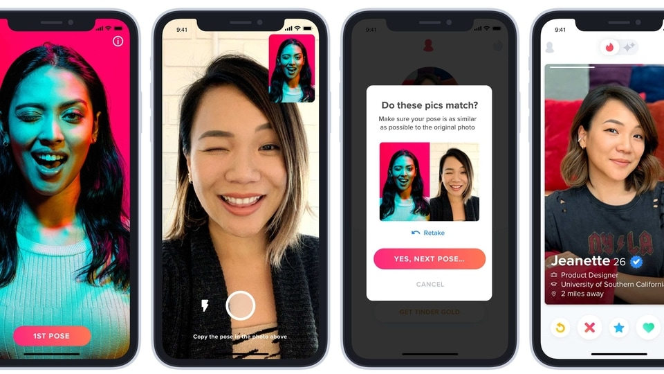 Tinder first launched it photo verification feature back in January this year.