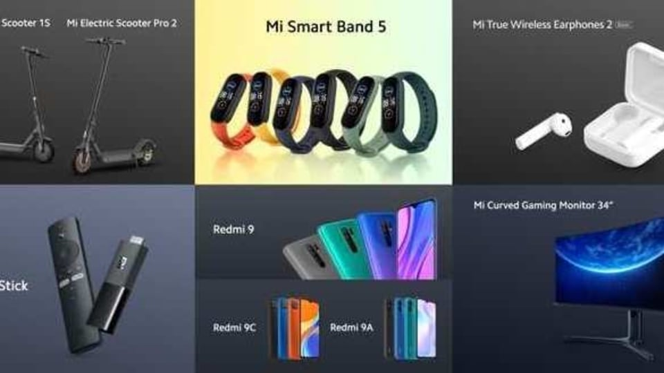 Here's everything Xiaomi announced today.