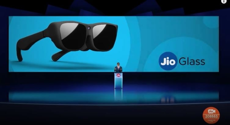 Jio Glass launched in India.