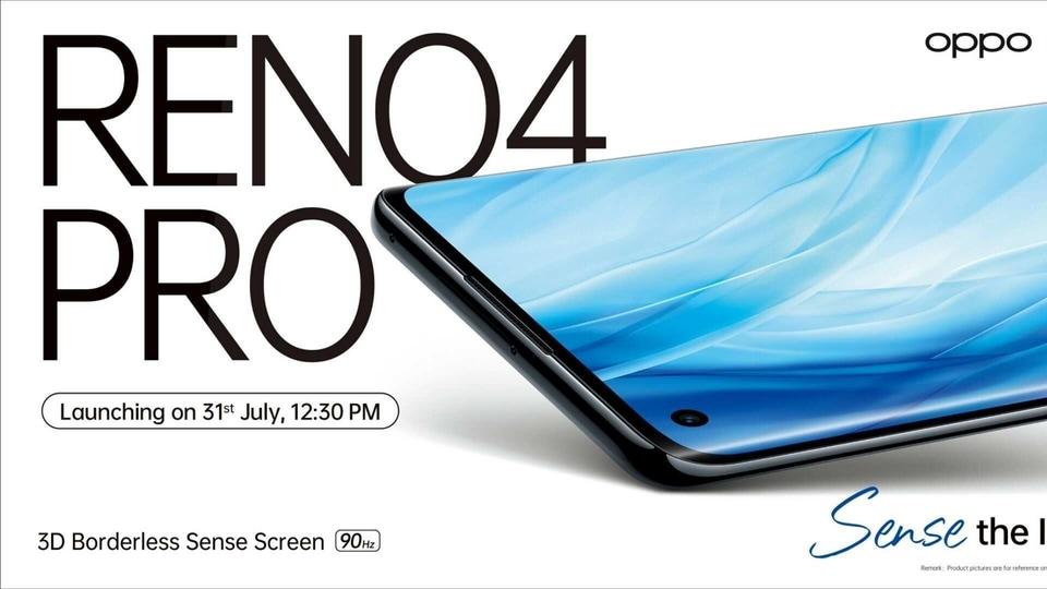 Oppo Reno 4 Pro launch in India.