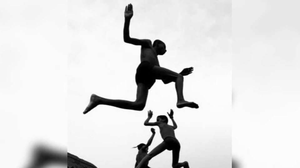 Flying Boys clicked by Dimpy Bhalotia.