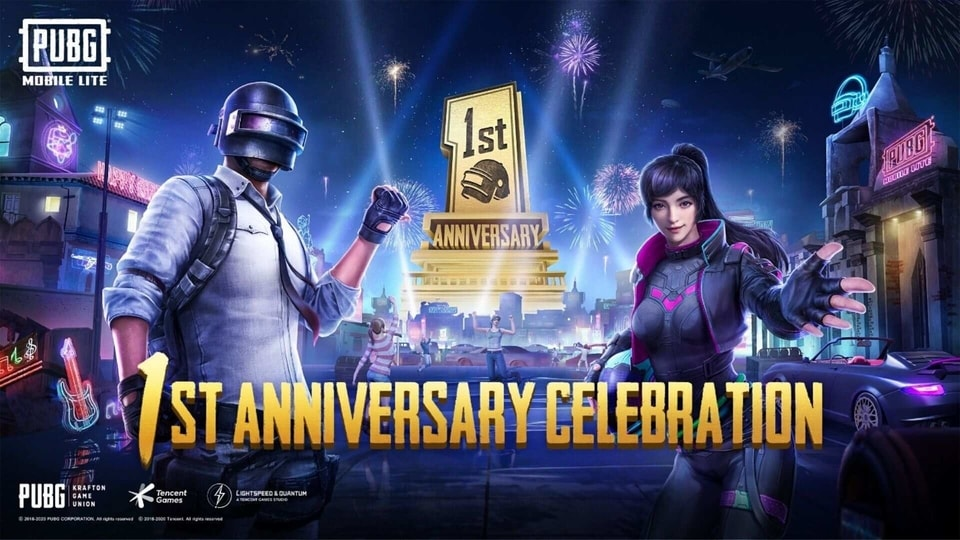 PUBG Mobile Lite completes one year.