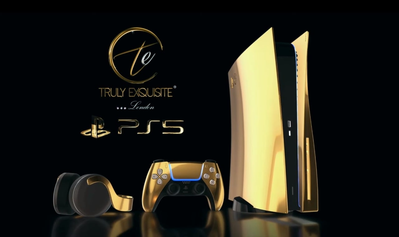 This Ps5 Is 24 Karat Gold Plated And Will Definitely Break Your Bank