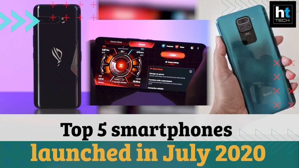 Here are the top smartphone launches from July.