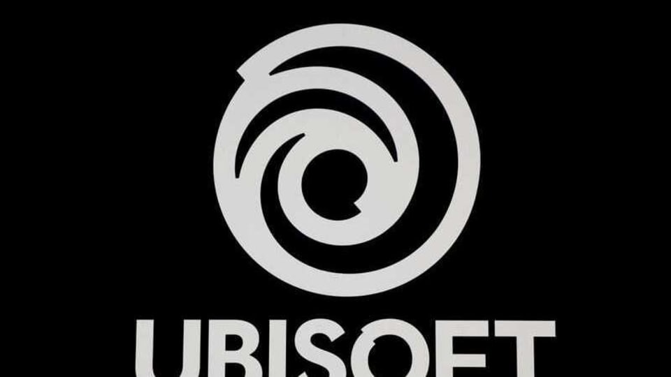 FILE PHOTO: The UbiSoft Entertainment logo is seen at the Paris Games Week (PGW), a trade fair for video games in Paris, France, October 29, 2019. REUTERS/Benoit Tessier/File Photo