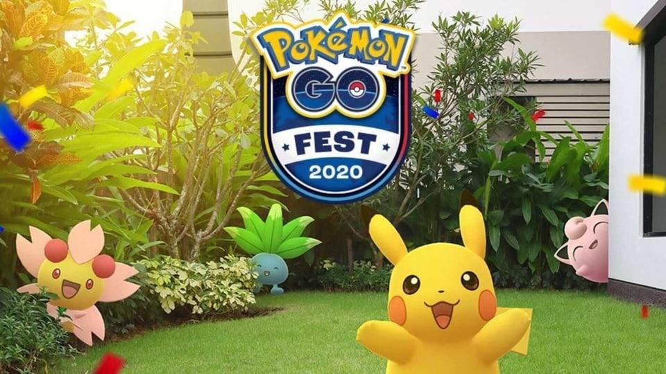 Pokemon Go Fest 2020.