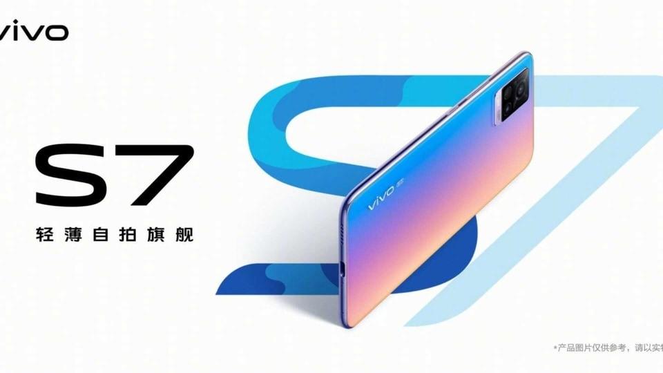 Vivo S7 teaser.