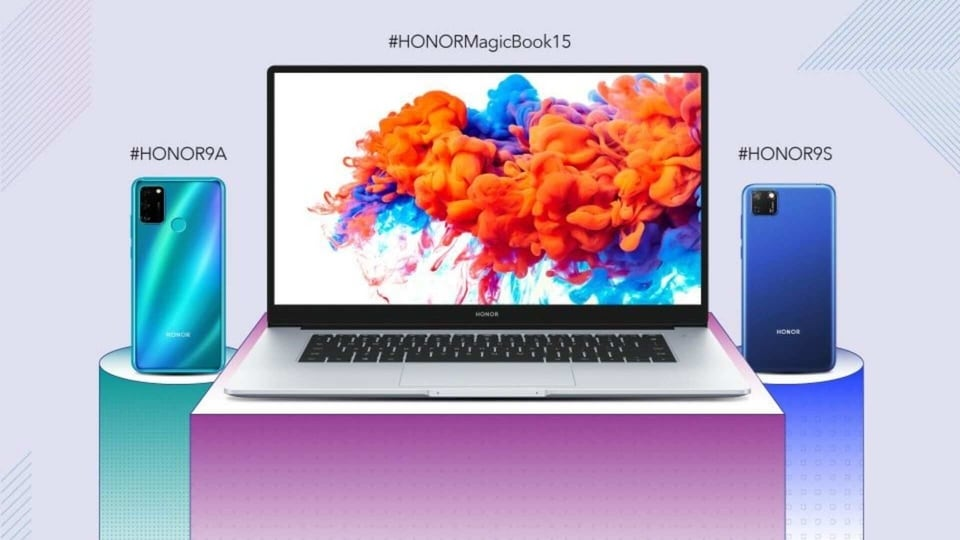 Honor 9A, Honor 9S, Honor MagicBook 15 launch.