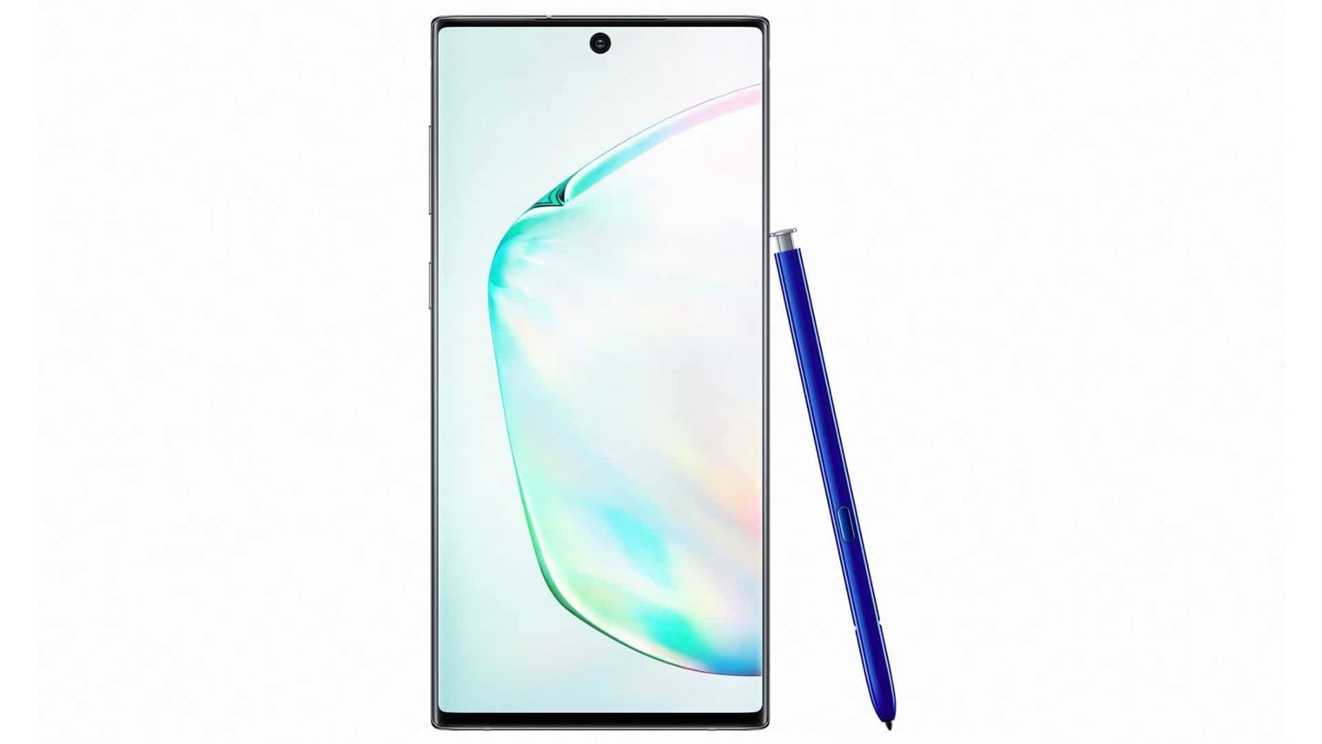 The Galaxy Note 10 launched with another high-end variant that's the Galaxy Note 10+. Samsung also moved to the punch-hole design with the Galaxy Note 10. It's the biggest 6.3-inch screen on a Note so far. The regular Galaxy Note 10 has a 6.3-inch display. The smartphone has four rear cameras, and 12GB of RAM.