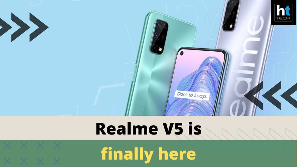 Realme V5 launched