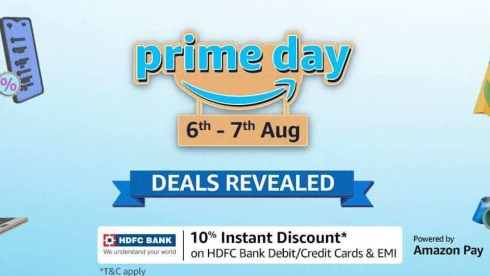 Amazon is set to host its annual Prime Day sale 2020 in India between August 6 and August 7.