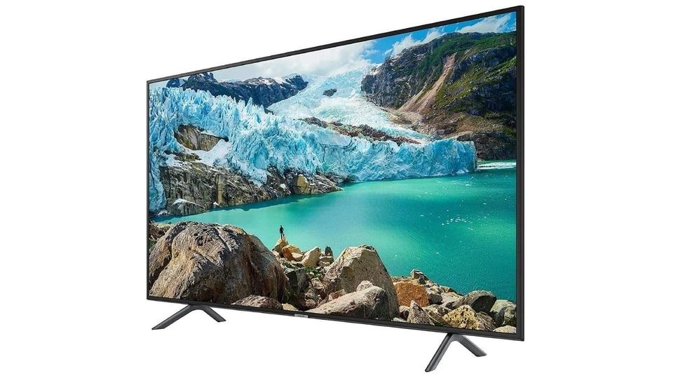 Samsung 4K UHD TV.