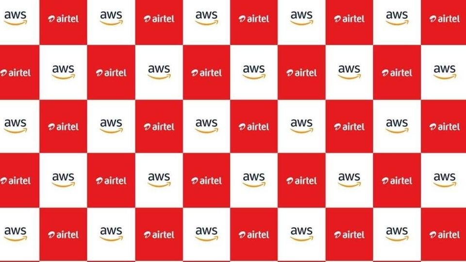 Airtel announces a strategic partnership with AWS.