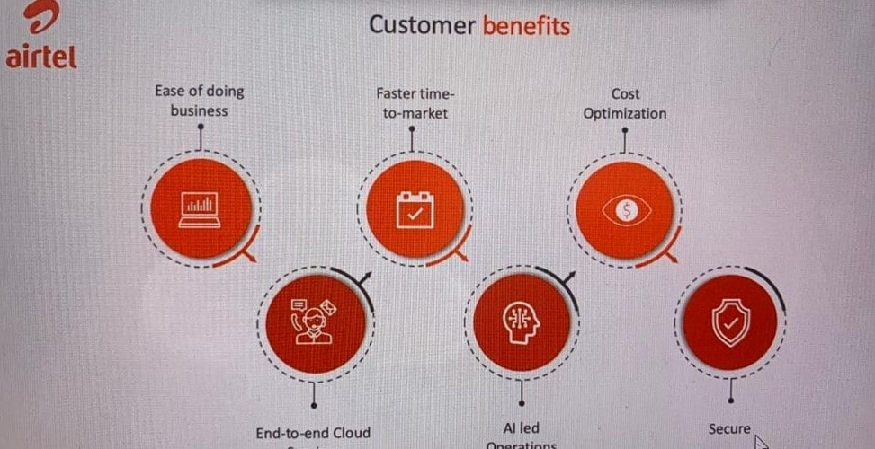 Airtel and AWS will provide cloud based services to SMEs.
