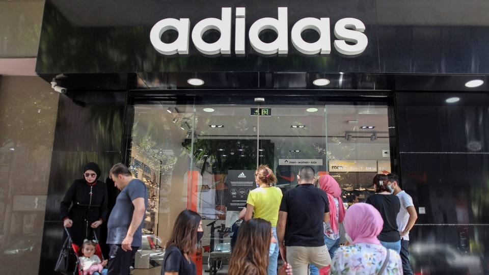 Adidas said it expects to turn an operating profit in the third quarter of between 600 million euros and 700 million euros -- another improvement after a loss of 333 million euros by that metric in the second quarter.
