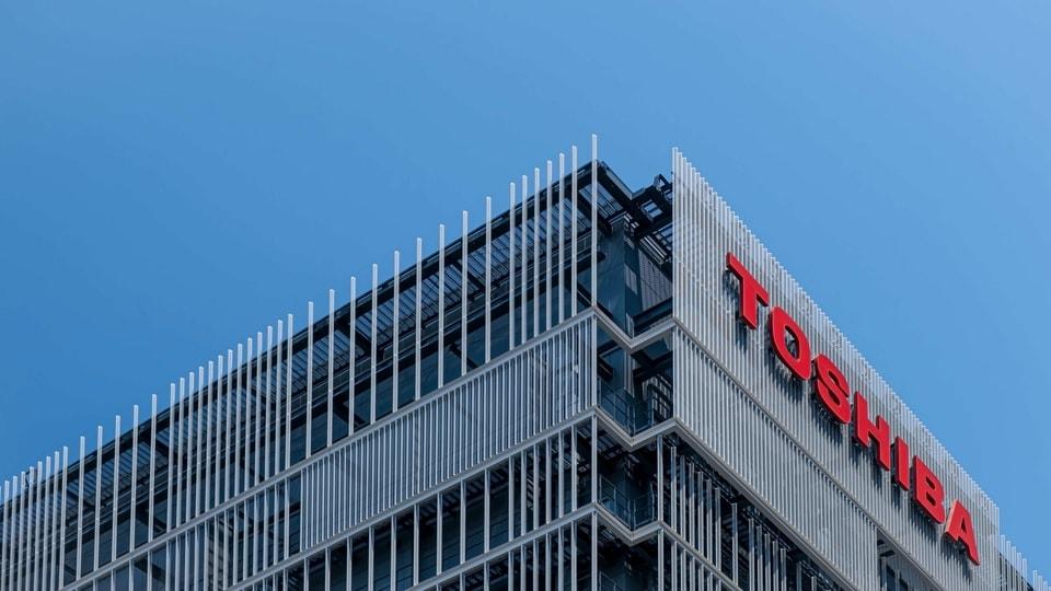 Toshiba building.