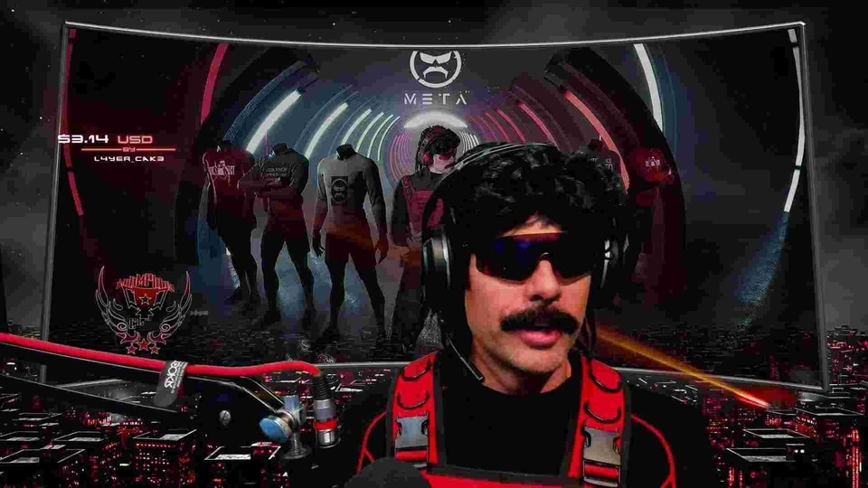 Dr Disrespect returned to streaming on YouTube.