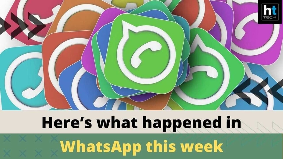 WhatsApp this week