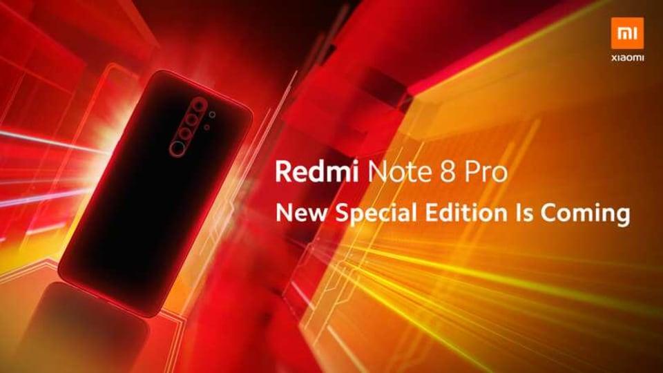 Redmi Note 8 Pro Special Edition