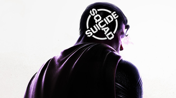 Rocksteady Studios tweeted an image of Superman with the Suicide Squad logo on the back of his head when they announced the new game.