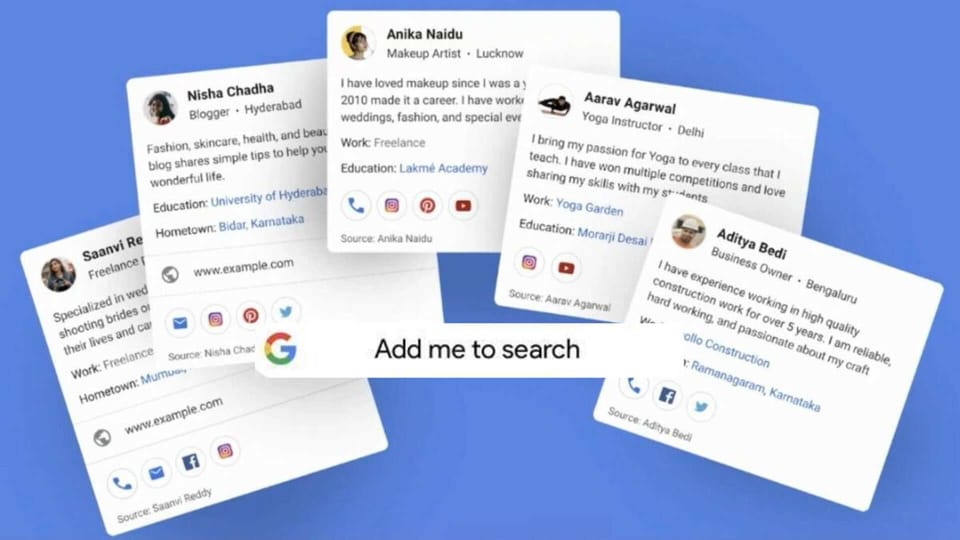 Know all about Googles new People Cards feature for India