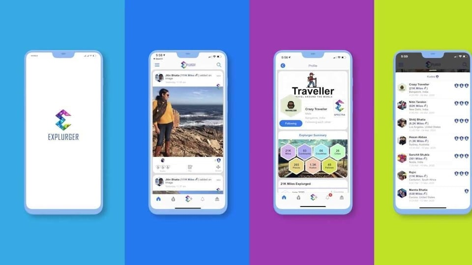 Explurger comes with innovative AI-based features and lets you share high-quality pictures, videos, create a bucket list, achieve Explurger levels, share future travel plans and also create an automatic travelogue.