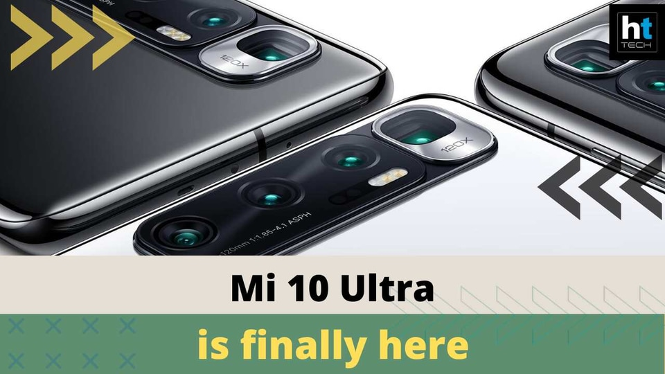Mi 10 Ultra launched
