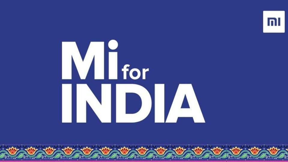 Xiaomi's new logo for Mi for India.